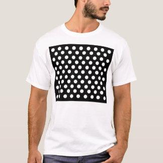 T-shirt Petit pois blanc