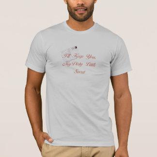 T-shirt Petit secret sale