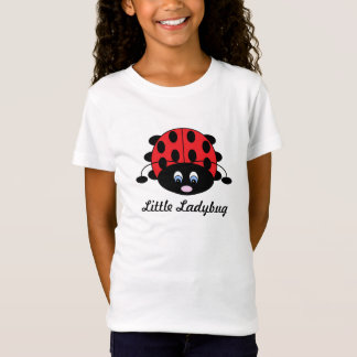 T-Shirt Petite chemise de coccinelle pour des filles
