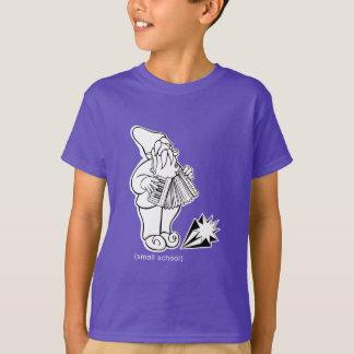 """T-shirt petite école """"gnome d'accordéon """""""