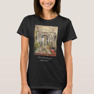 T-shirt Petite impératrice Alexandra Fyodorovna de jardin