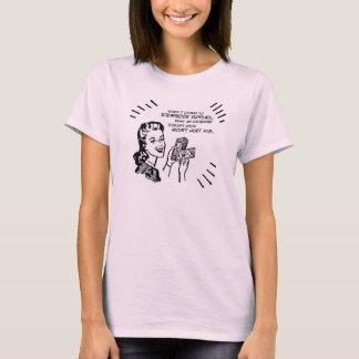 T-shirt Petite Mlle argent T