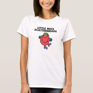 T-shirt Petite Mlle heureuse Scatterbrain