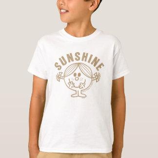 T-shirt Petite Mlle Sunshine de Brown