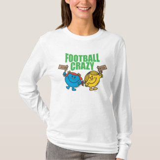T-shirt Petite Mlle Sunshine et football de rires bébêtes