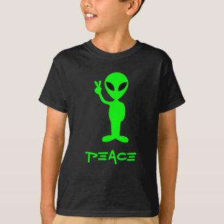 T-shirt Petite pièce en t d'obscurité d'homme vert
