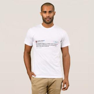 T-shirt Petite possibilité de pièce en t de la guerre