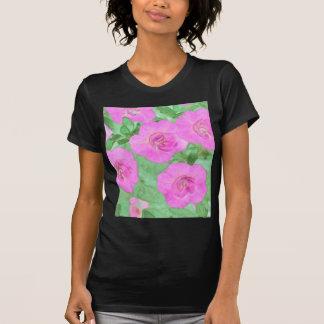 T-shirt Pétunias peints