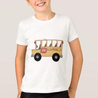 T-shirt Peu d'autobus scolaire