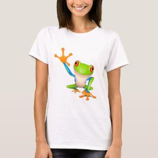 T-shirt Peu de grenouille d'arbre