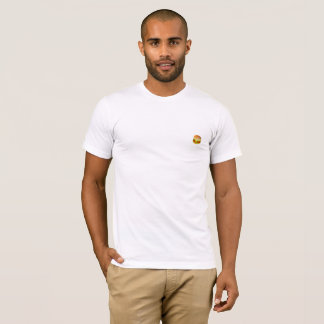 T-shirt Peu de logo d'hamburger