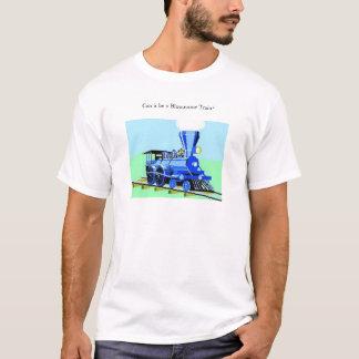 T-shirt Peut-ce être un train de bluuuuuuuue ?