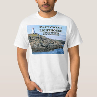 T-shirt Phare de machaon, Manan grand, N.B.T-Shirt