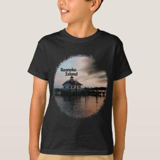 T-shirt Phare d'île de Roanoke