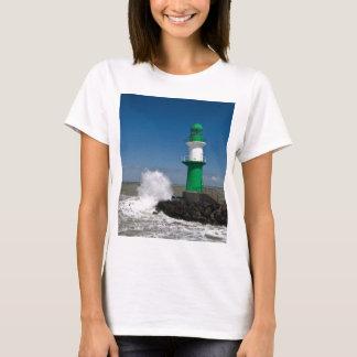T-shirt Phares dans Warnemuende