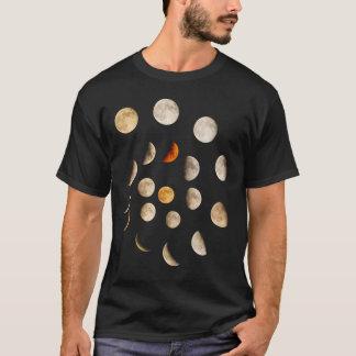 T-shirt Phases de la spirale de lune