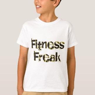 T-shirt Phénomène de forme physique - noir et or