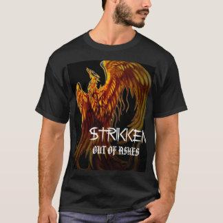T-shirt pheonix, blanc de STRIKKEN, HORS DES CENDRES