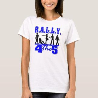 T-shirt Phi de Zeta bêta - Rally4the5