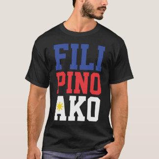 T-shirt Philippin Ako (avant et dos)