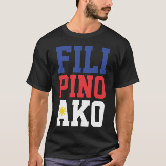 T-shirt Philippin Ako (avant seulement)