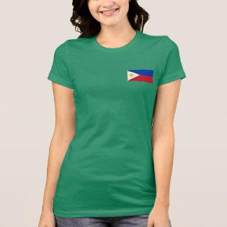 T-shirt philippin de drapeau