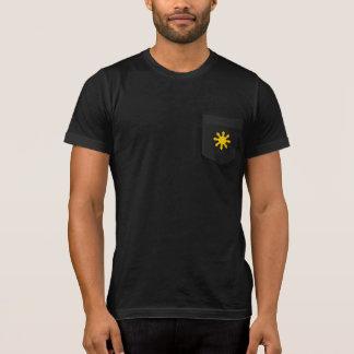 T-shirt philippin de poche d'étoile