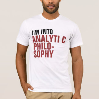 T-shirt Philosophie analytique