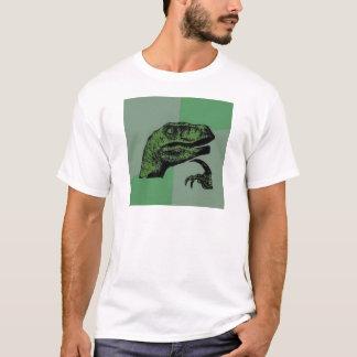 T-shirt Philosoraptor