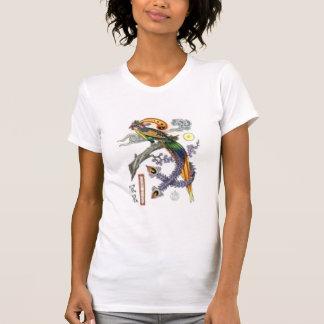 T-shirt Phoenix sur l'avant et le dos