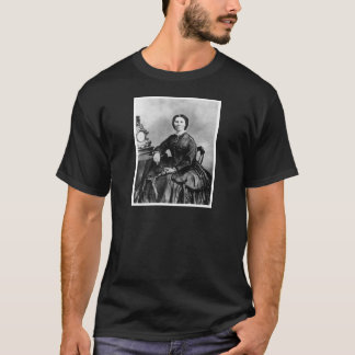 T-shirt Photo 1866 de cru de ~ de portrait de Clara Barton
