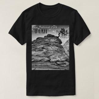 T-shirt Photo d'arbre de bonsaïs de parc national de Zion