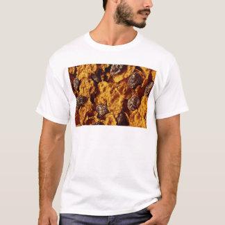 T-shirt Photo de céréale de raisin sec et de son