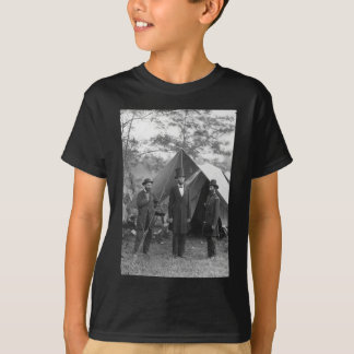 T-shirt Photo de guerre civile Circa 1862