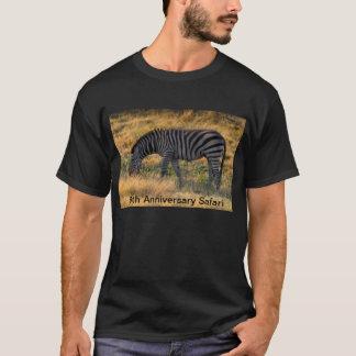 T-shirt Photo de zèbre