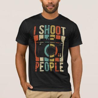 T-shirt Photographe de personnes de pousse du cru I