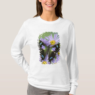 T-shirt Photographie de Sammamish Washington de papillon