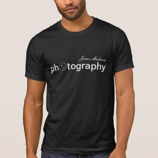 T-shirt Photographie personnalisée d'objectif de caméra
