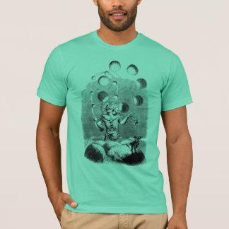 T-shirt Physicien jonglant avec les planètes