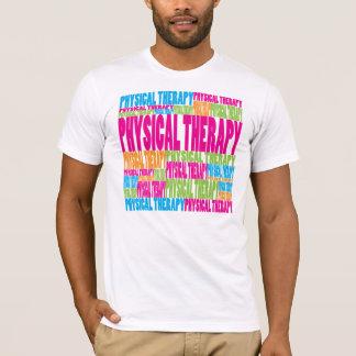 T-shirt Physiothérapie colorée