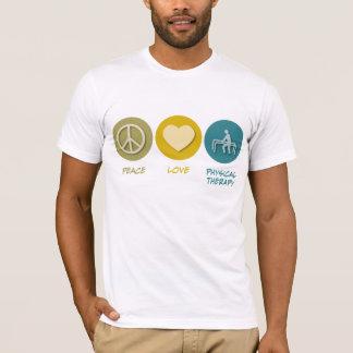 T-shirt Physiothérapie d'amour de paix