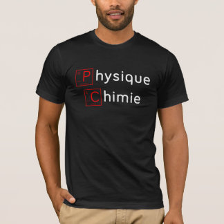 T-shirt Physique Chimie (periodic design) - Scientifique