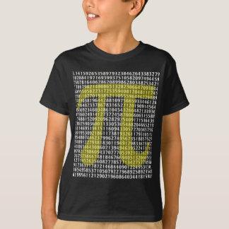 T-shirt Pi 3,14 cent de chiffres