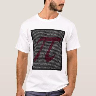 """T-shirt """"Pi"""" - art de nombre de 5000 chiffres !"""
