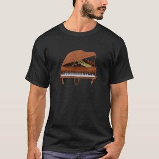 T-shirt Piano à queue : Finition du bois : modèle 3D :