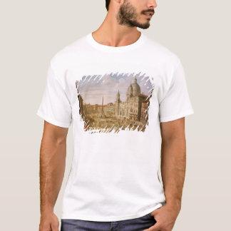 T-shirt Piazza Navona, Rome, semblant du sud vers Palazzo