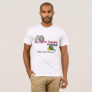 T-shirt Pickleball - Wellfleet et le cap externe