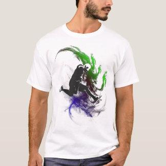 T-shirt pièce en t 004 de transitoire