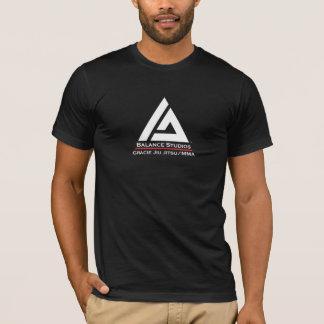 T-shirt Pièce en t 2010 de logo d'équilibre