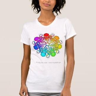 T-shirt Pièce en t 2013 blanche de CephNet (TM)
